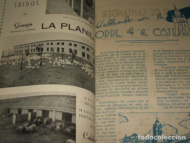 Documentos antiguos: CALAHORRA LA RIOJA PROGRAMA FIESTAS 1952 114 PAGS - Foto 3 - 110314527
