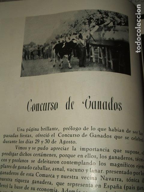 Documentos antiguos: CALAHORRA LA RIOJA PROGRAMA FIESTAS 1952 114 PAGS - Foto 5 - 110314527