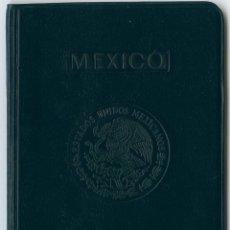 Documentos antiguos: PASAPORTE DE MEXICO 1989, PASSPORT OF MEXICO, PASSEPORT, REISEPASS. Lote 112357763