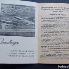 Documentos antiguos: PROGRAMA SEMANA SANTA - HUELVA 1963 / PUBLICIDAD COCA - COLA / COANBEGA. Lote 112364127