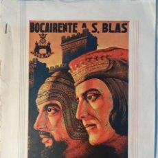 Documentos antiguos: BOCAIRENTE MOROS Y CRISTIANOS 1950. Lote 246583585