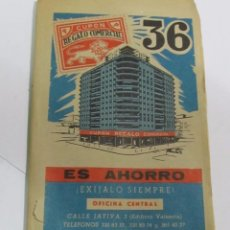 Documentos antiguos: ANTIGUA CARTILLA DE CUPONES REGALO COMERCIAL. Lote 112709691