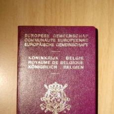 Documentos antiguos: PASAPORTE DE BELGICA 1997, PASSPORT, PASSEPORT, REISEPASS. Lote 113376191