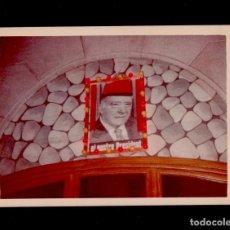 Documentos antiguos: 0245 FOTOGRAFIA DE UN POSTER DEL PRESIDENT TARRADELLAS EXPUESTO EN UN ESTABLECIMIENTO, QUE NO CONOZC. Lote 113437827