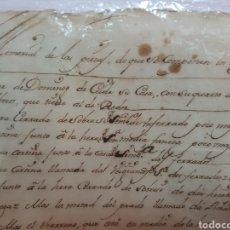 Documentos antiguos: S.XVII, DOCUMENTO GRAN HERENCIA, PEDRO DE VILLARELLE. GALICIA. Lote 113532964