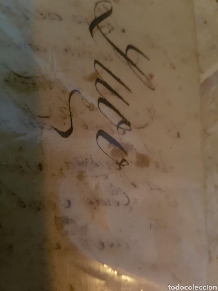 Documentos antiguos: S.XVII, DOCUMENTO GRAN HERENCIA, PEDRO DE VILLARELLE. GALICIA - Foto 3 - 113532964