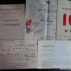 Documentos antiguos: LOTE DE DIFERENTES DOCUMENTOS PERSONALES , VER FOTOS. Lote 113550483