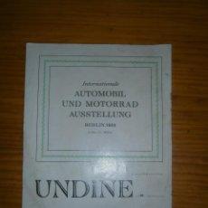 Documentos antiguos: BERLIN DE 1934. Lote 113697911