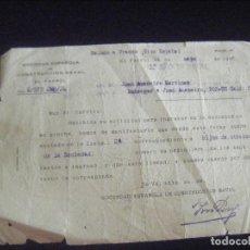 Documents Anciens: JML INSCRIPCION PARA HIJOS DE OBREROS SOCIEDAD ESPAÑOLA DE CONSTRUCCION NAVAL DE EL FERROL, 1938. . Lote 113715751