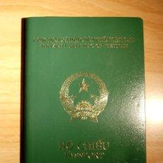 Documentos antiguos: PASAPORTE DE VIETNAM 2002, PASSPORT, PASSEPORT, REISEPASS. Lote 112382699