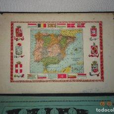 Documentos antiguos: ANTIGUA CARPETA DE SOBREMESA DESPACHO DE PALOUZIÉ - AÑO 1898. Lote 114270523