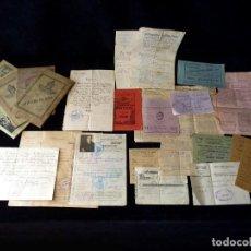 Documentos antiguos: LOTE DOCUMENTOS FAMILIA INMIGRANTES ESPAÑOLES, CASTELL DE CASTELLS (ALICANTE), EN EL SUR FRANCIA. A. Lote 115131215
