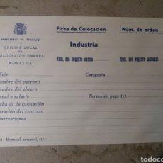 Documentos antiguos: NOVELDA ALICANTE. REPÚBLICA. Lote 115395796