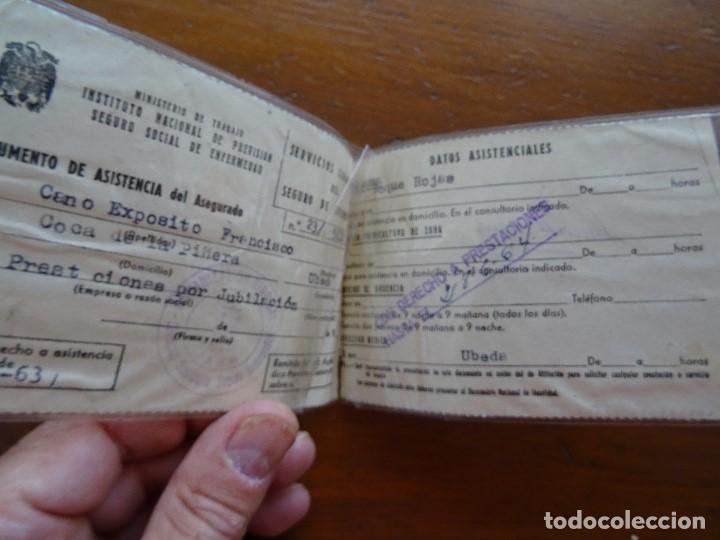 INSTITUTO NACIONAL PREVISIÓN SEGURO SOCIAL ENFERMEDAD (Coleccionismo - Documentos - Otros documentos)