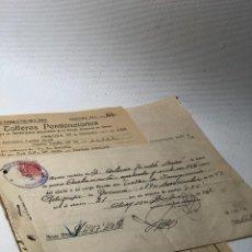 Documentos antiguos: TALLERES PENITENCIARIOS· IMAGINERÍA RELIGIOSA ·· GERONA ·· ALCOY · ALICANTE ·· POSGUERRA ·· 1942. Lote 116940411