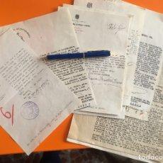 Documentos antiguos: ALCOY- ALICANTE- DOCUMENTOS POST GUERRA CIVIL- PRISIONES AÑOS 1.94.... Lote 117116031