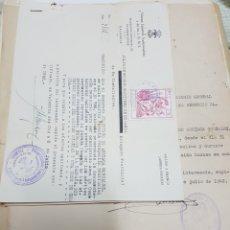 Documentos antiguos: LOTE DE DOCUMENTOS, FALANGE, EX COMBATIENTE, RECOMPENSAS,1942. ARRIAGA. VALENCIA, SINDICATO ARROZ... Lote 118307918