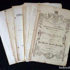 Documentos antiguos: COPIAS DE ESCRITURAS TESTAMENTO EMILIA MAUPUEY BROQUÉS, 1897 Y DE SILVINO MAUPUEY MAUPUEY, 1910, PÉR. Lote 118465255