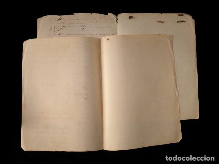 Documentos antiguos: APUNTES RELATIVOS AL NOMBRAMIENTO DE CONSUL SUSTITUTO DEL TRIBUNAL COMERCIO VALENCIA,1851 MAUPOEY - Foto 3 - 118466795