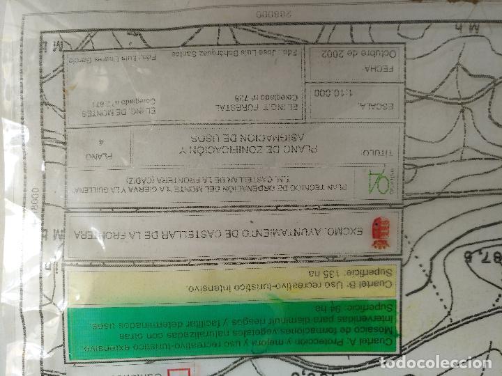 Documentos antiguos: 67 x 56 cm 4 mapas transparencias ayuntamiento castelar de la frontera. plano de zonificacion cadiz - Foto 8 - 118809763