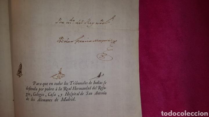 Documentos antiguos: MANDATO DE CUMPLIMIENTO DE REAL RESOLUCIÓN 1771 - Foto 3 - 119236198