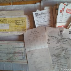 Documentos antiguos: GRAN LOTE DE FACTURAS RECIBOS LETRAS DE CAMBIO AÑO 1968-69-70 ¡¡MUY INTERESANTE!!. Lote 119356966