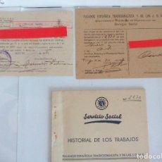 Documentos antiguos: FALANGE TARRAGONA . Lote 119496919