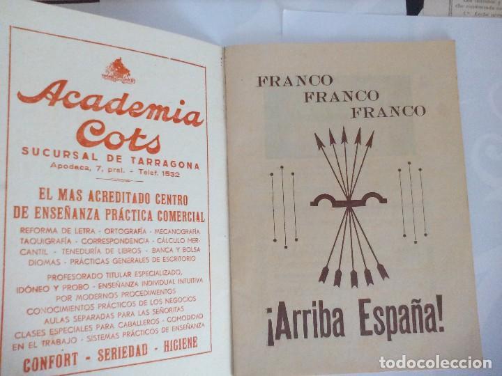 Documentos antiguos: Tarragona Programa Fiestas Santa Tecla año de la victoria - Foto 4 - 119839051