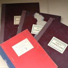 Documentos antiguos: DIARIOS DE LA SOCIEDAD DE FERROCARRIL DE MONTSERRAT, AÑOS 40.. Lote 120495199