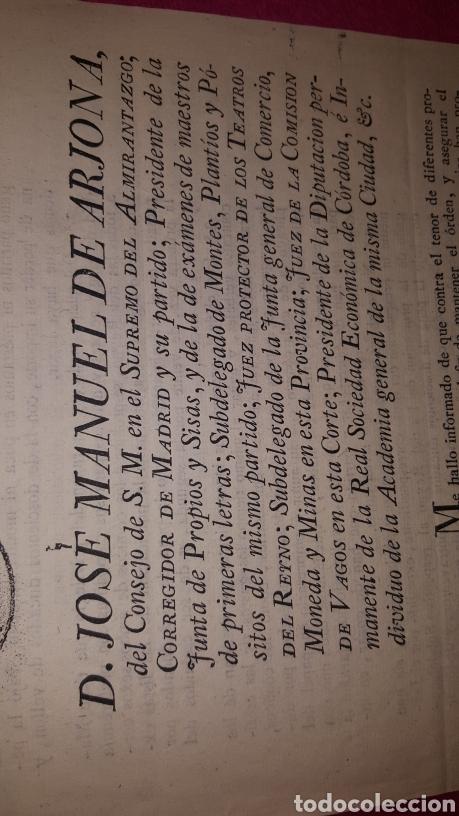 Documentos antiguos: NORMAS PARA EL FUNCIONAMIENTO DE LOS TEATROS. 1818 - Foto 3 - 120844196