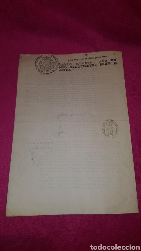 Documentos antiguos: NORMAS PARA EL FUNCIONAMIENTO DE LOS TEATROS. 1818 - Foto 8 - 120844196