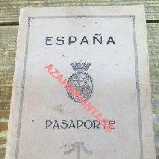 Documentos antiguos: ANTIGUO PASAPORTE II REPÚBLICA ESPAÑOLA AÑO 1931,EXPEDIDO EN SAN SEBASTIAN. Lote 121272367