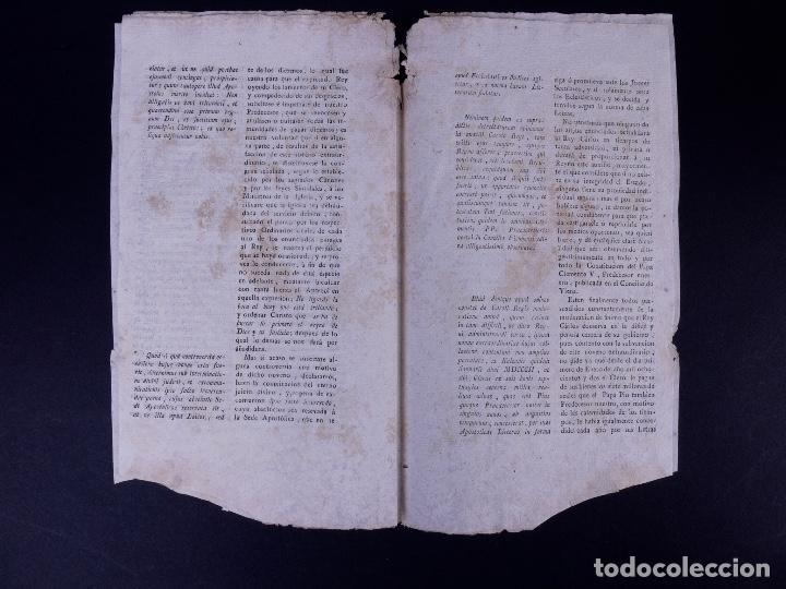 Documentos antiguos: REAL CEDULA DE EXACCION DE UN NOVENO DE TODOS LOS DIEZMOS, PALENCIA 1801 - Foto 6 - 121589999