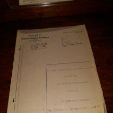 Documentos antiguos: ESCRITURA DE COMPRA VENTA. Lote 121659031