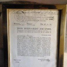Documentos antiguos: DOCUMENTO SOBRE ILUMINACIÓN Y SERENOS EN MADRID CALLE HUERTAS 1807 - 1808. Lote 121677995