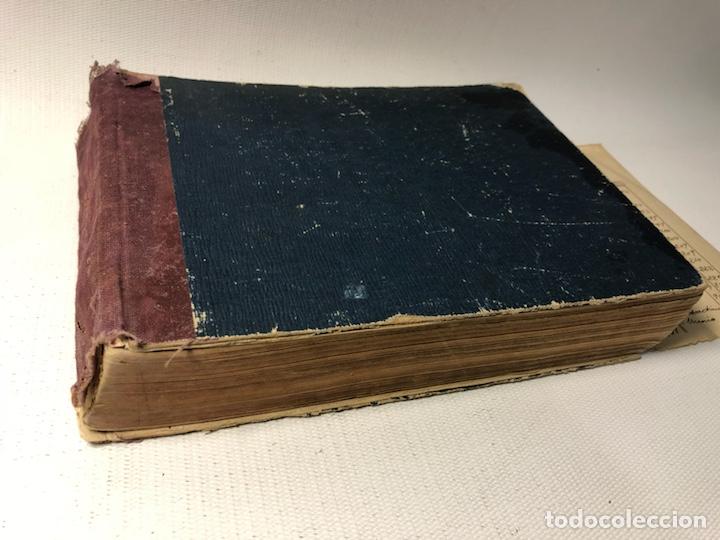 MANUSCRITO DE MECANICA Y FISICA CON 394 EJERCICIOS REALIZADOS ,AÑOS 40..50 (Coleccionismo - Documentos - Otros documentos)