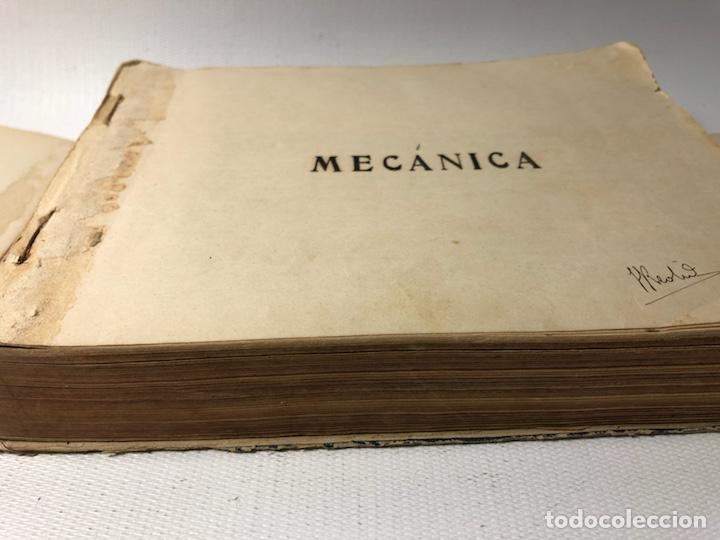 Documentos antiguos: MANUSCRITO DE MECANICA Y FISICA CON 394 EJERCICIOS REALIZADOS ,AÑOS 40..50 - Foto 4 - 122815215