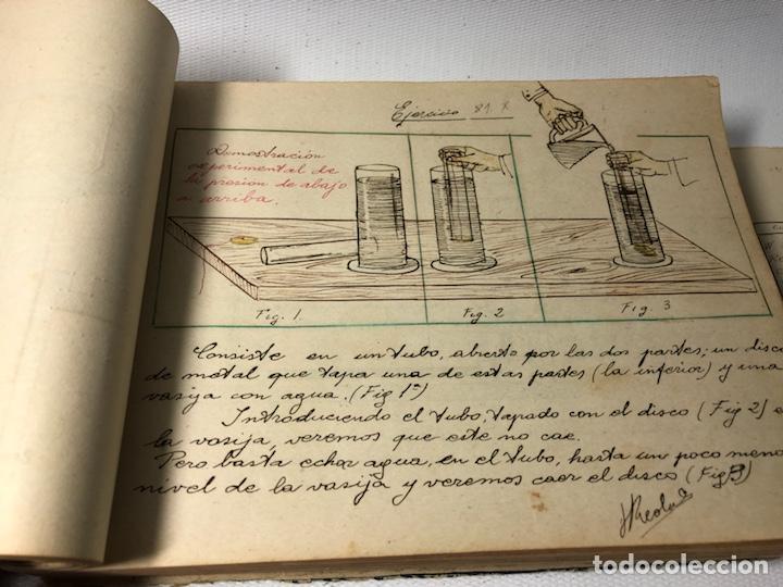 Documentos antiguos: MANUSCRITO DE MECANICA Y FISICA CON 394 EJERCICIOS REALIZADOS ,AÑOS 40..50 - Foto 27 - 122815215