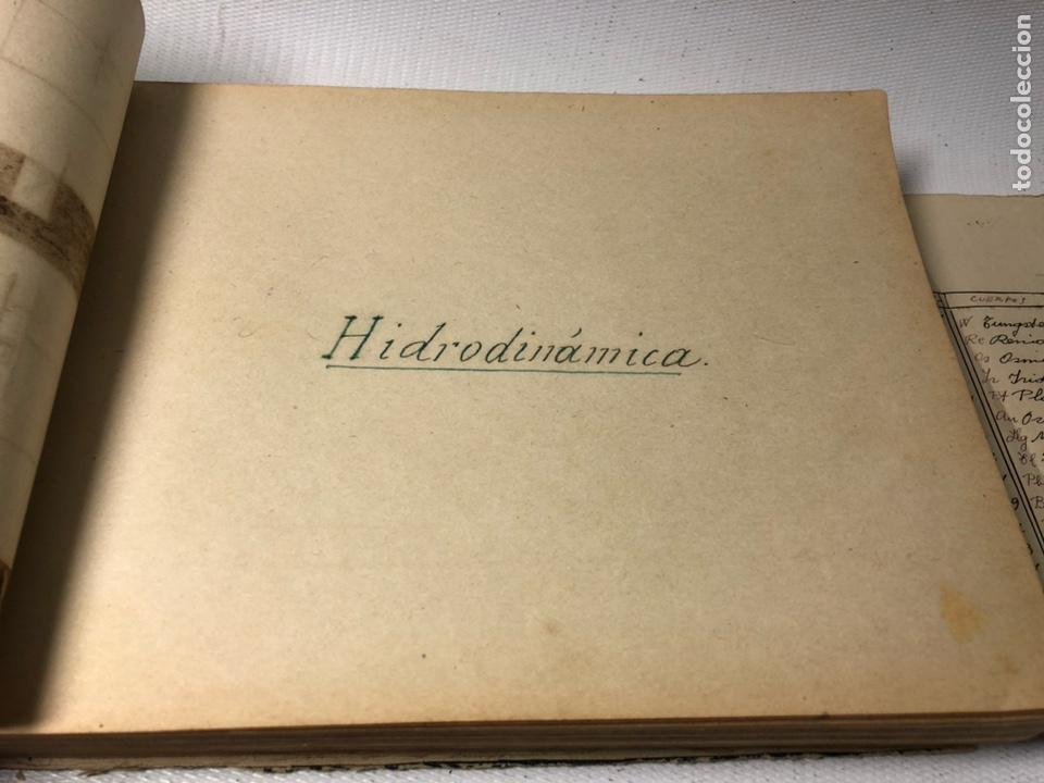 Documentos antiguos: MANUSCRITO DE MECANICA Y FISICA CON 394 EJERCICIOS REALIZADOS ,AÑOS 40..50 - Foto 29 - 122815215