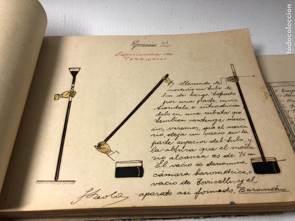 Documentos antiguos: MANUSCRITO DE MECANICA Y FISICA CON 394 EJERCICIOS REALIZADOS ,AÑOS 40..50 - Foto 31 - 122815215