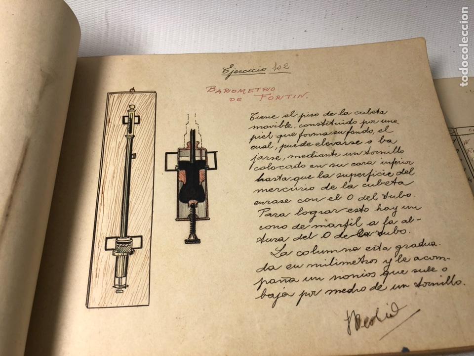 Documentos antiguos: MANUSCRITO DE MECANICA Y FISICA CON 394 EJERCICIOS REALIZADOS ,AÑOS 40..50 - Foto 32 - 122815215