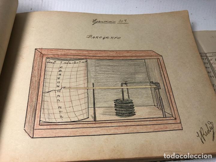 Documentos antiguos: MANUSCRITO DE MECANICA Y FISICA CON 394 EJERCICIOS REALIZADOS ,AÑOS 40..50 - Foto 35 - 122815215