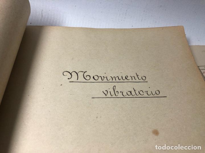 Documentos antiguos: MANUSCRITO DE MECANICA Y FISICA CON 394 EJERCICIOS REALIZADOS ,AÑOS 40..50 - Foto 37 - 122815215