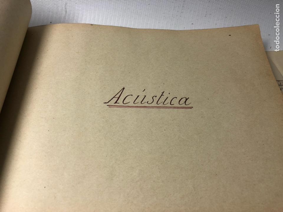 Documentos antiguos: MANUSCRITO DE MECANICA Y FISICA CON 394 EJERCICIOS REALIZADOS ,AÑOS 40..50 - Foto 39 - 122815215
