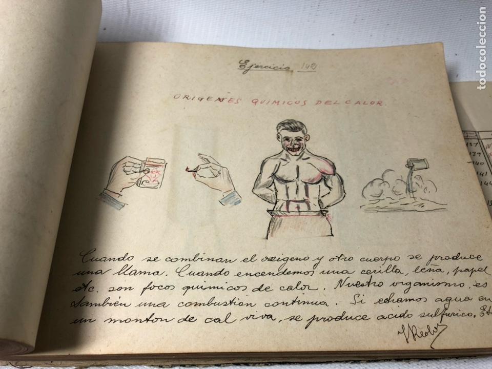 Documentos antiguos: MANUSCRITO DE MECANICA Y FISICA CON 394 EJERCICIOS REALIZADOS ,AÑOS 40..50 - Foto 44 - 122815215