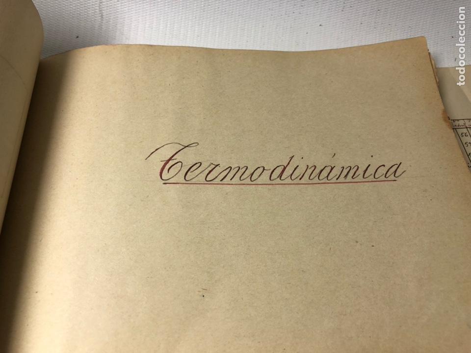 Documentos antiguos: MANUSCRITO DE MECANICA Y FISICA CON 394 EJERCICIOS REALIZADOS ,AÑOS 40..50 - Foto 48 - 122815215