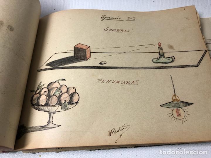 Documentos antiguos: MANUSCRITO DE MECANICA Y FISICA CON 394 EJERCICIOS REALIZADOS ,AÑOS 40..50 - Foto 51 - 122815215