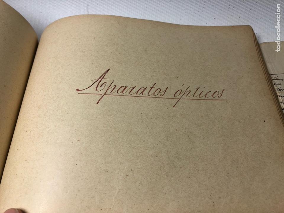 Documentos antiguos: MANUSCRITO DE MECANICA Y FISICA CON 394 EJERCICIOS REALIZADOS ,AÑOS 40..50 - Foto 53 - 122815215