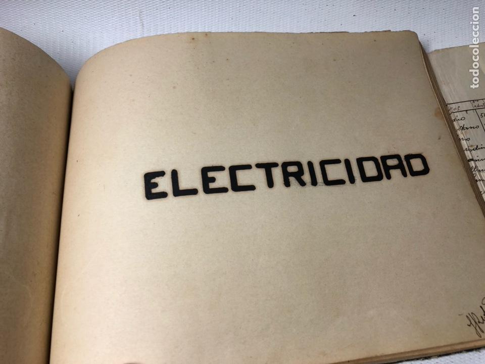 Documentos antiguos: MANUSCRITO DE MECANICA Y FISICA CON 394 EJERCICIOS REALIZADOS ,AÑOS 40..50 - Foto 55 - 122815215
