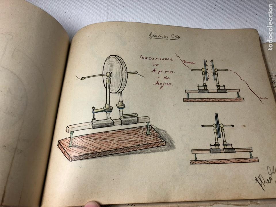 Documentos antiguos: MANUSCRITO DE MECANICA Y FISICA CON 394 EJERCICIOS REALIZADOS ,AÑOS 40..50 - Foto 59 - 122815215